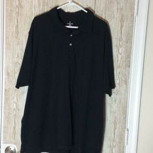 Lands End Black Polo Size XXL